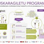 Euskaragiletu programa: inforgrafia