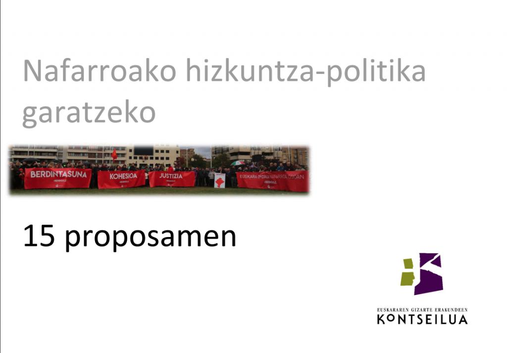 Nafarroan hizkuntza-politika
